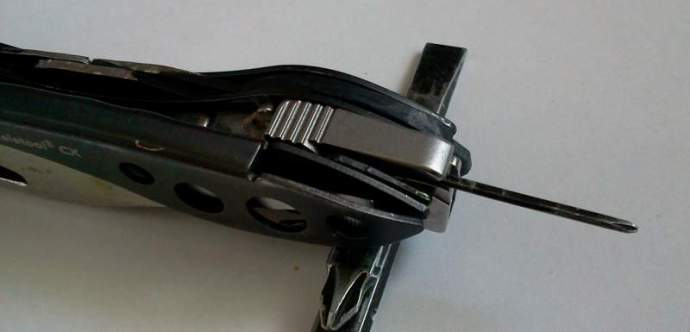 Rimless Eyeglass Nut Driver Kit : Leatherman Bit Kit eyeglass screwdriver EDCForums